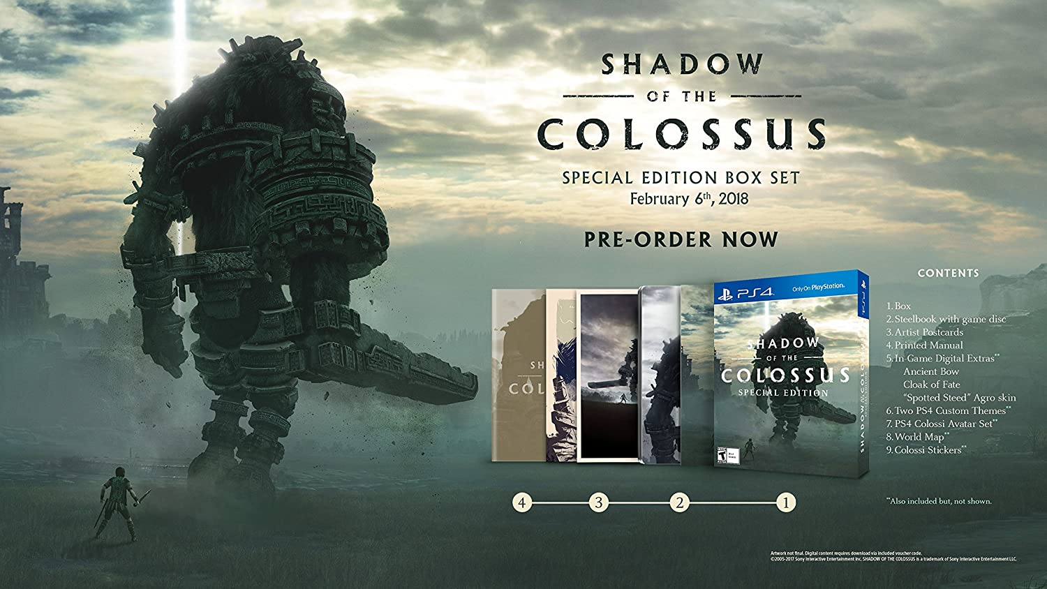 Shadow Of The Colossus - Special Edition (輸入版:北米) - PS4 B0781VST1X