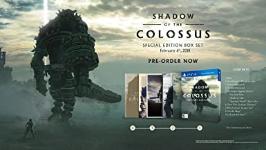 Shadow of The Colossus Special Edition - PlayStation 4 ( US Import )