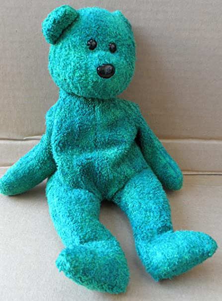 Amazon.com  TY Beanie Babies Wallace the Bear Plush Toy Stuffed Animal - No  scarf  Toys   Games f98979f3fc8
