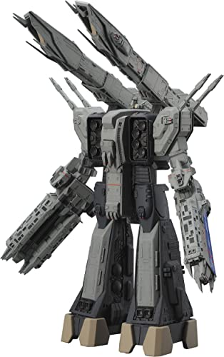 1 4000 SDF-1 Macross ship The forced attack type Theater edition Plastic model.