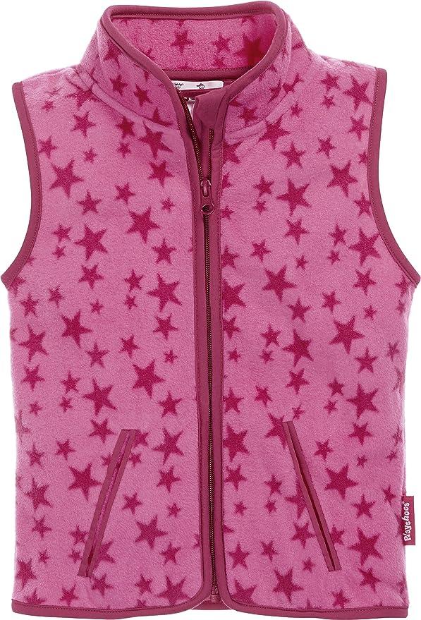 Playshoes Baby Girls Fleece-Weste Sterne Jacket