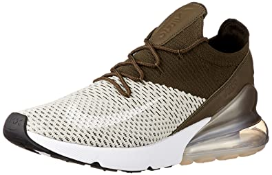 big sale 81219 77cce Nike Air Max 270 Flyknit Herren Running Trainers AO1023 Sneakers Schuhe (UK  8 US 9