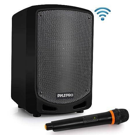 Amazon.com: Pyle Bluetooth Karaoke PA Altavoz – Sistema de ...