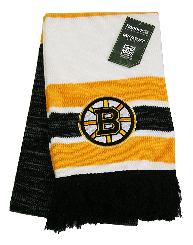 Reebok Center Ice Jacquard Scarf - Boston Bruins CS527Z