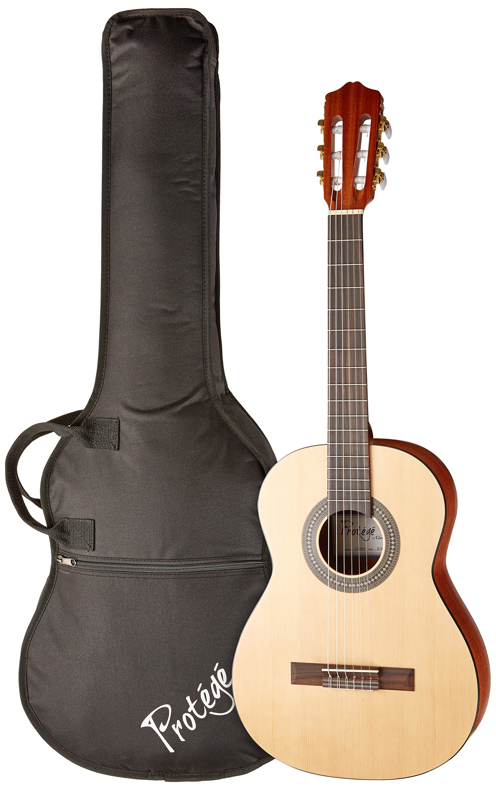 Protege by Cordoba C100M 3/4 Size Classical Guitar with Gig Bag and Tuner (Amazon Exclusive)