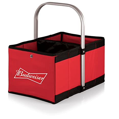 Picnic Time Budweiser Urban Market Basket