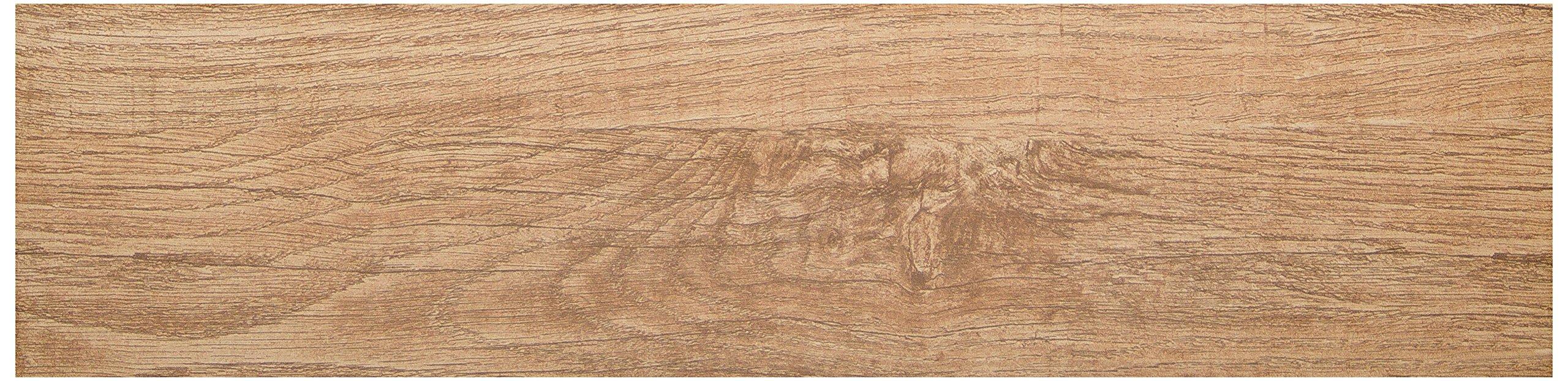 Emser Tile F78WOODBE0624 Woodwork Bend - Porcelain Tile, 6 x 24''