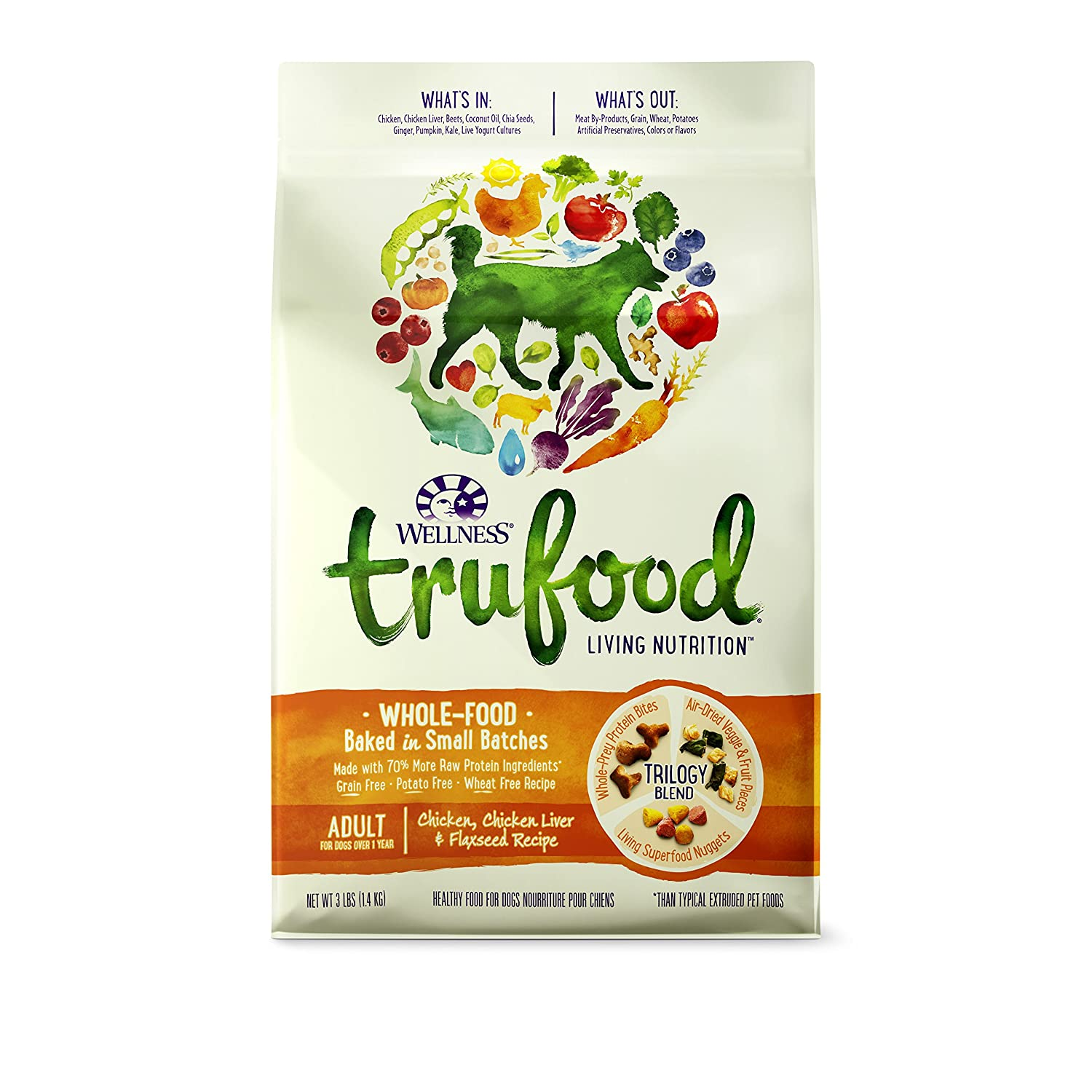 Wellness trufood baked blends adult chicken pet supplies amazon forumfinder Image collections
