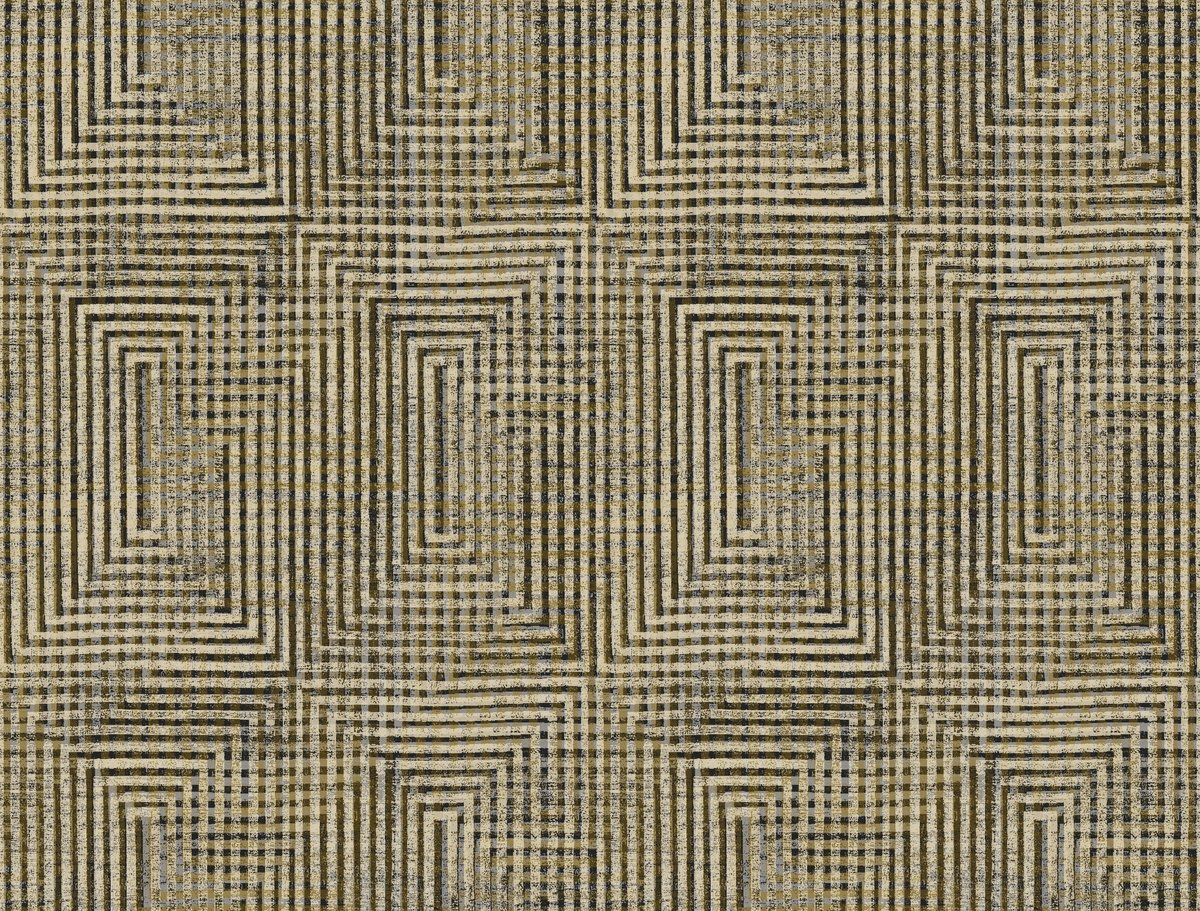 York Wallcoverings HO3324 Right Angle Weave Wallpaper, Tailored Collection, Brown