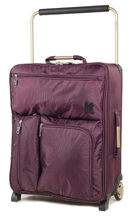 Maleta de mano, de la marca IT Luggage, superligera, 55 x 40 x