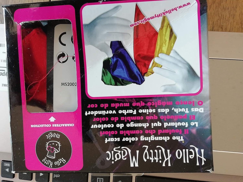 Hello Kitty Magic MS1003 - Décoration de Fêtes - Tour de Magie - Le Foulard Magique