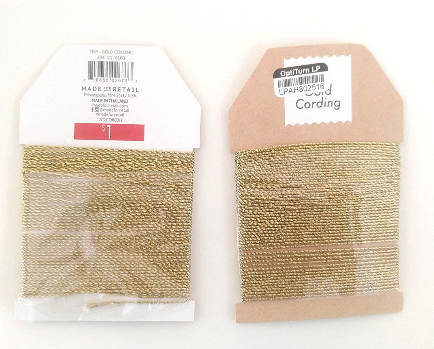 Braided Bakers Twine GOLD OPTITURN LP