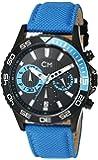 Carlo Monti Herren-Armbanduhr XL Avellino Chronograph Quarz Textil CM509-663