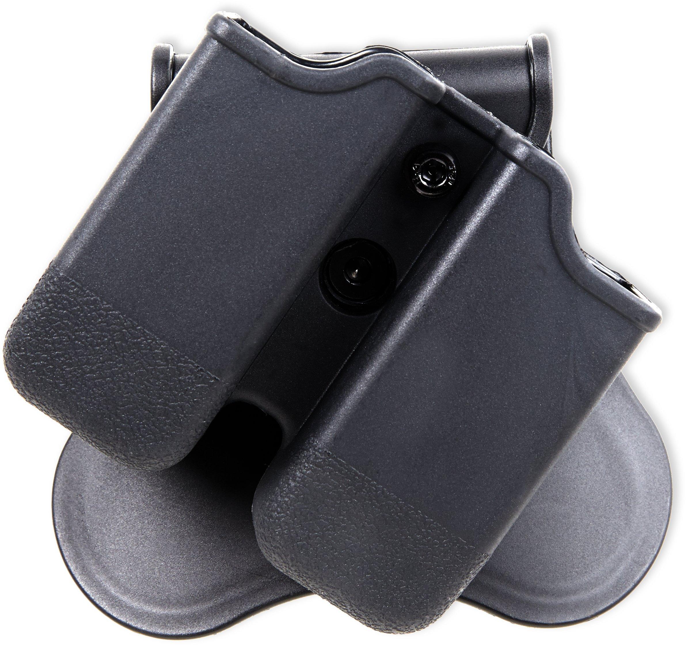 Bulldog Cases P-GM Polymer Magazine Holder, Black, Left/Right by Bulldog Cases (Image #2)