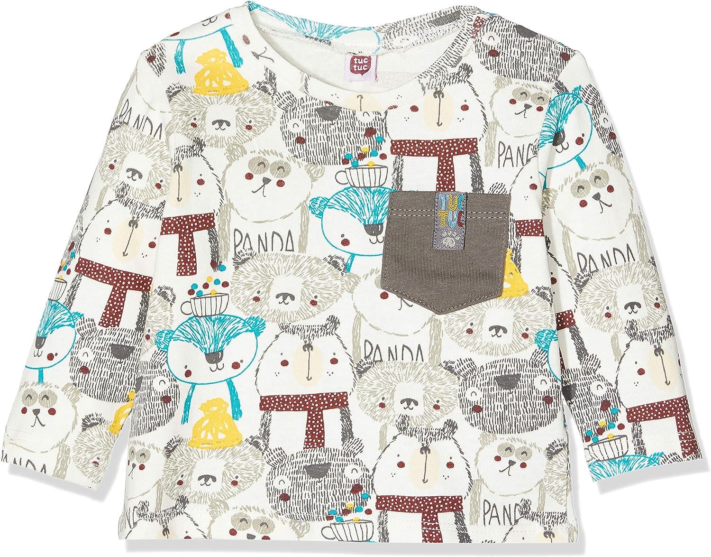 Tuc Tuc Baby-Jungen Camiseta Punto Media Estampada Ni/ño Langarmshirt