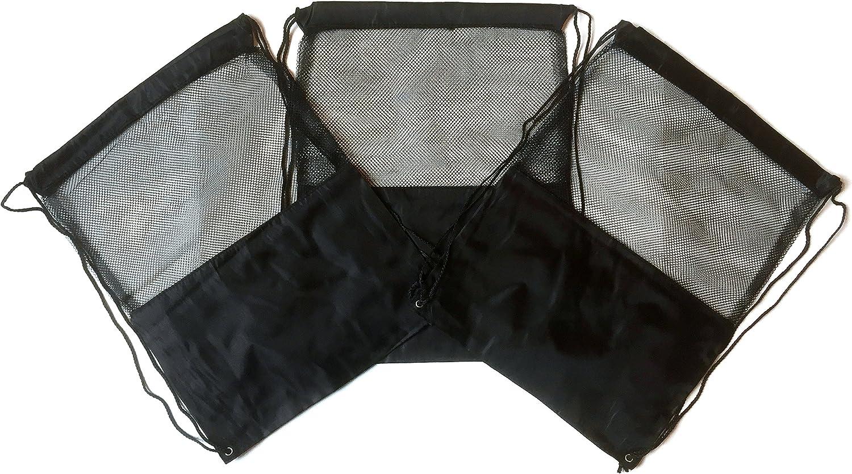 BlackPastel-Multi Knit Drawstring Pouch