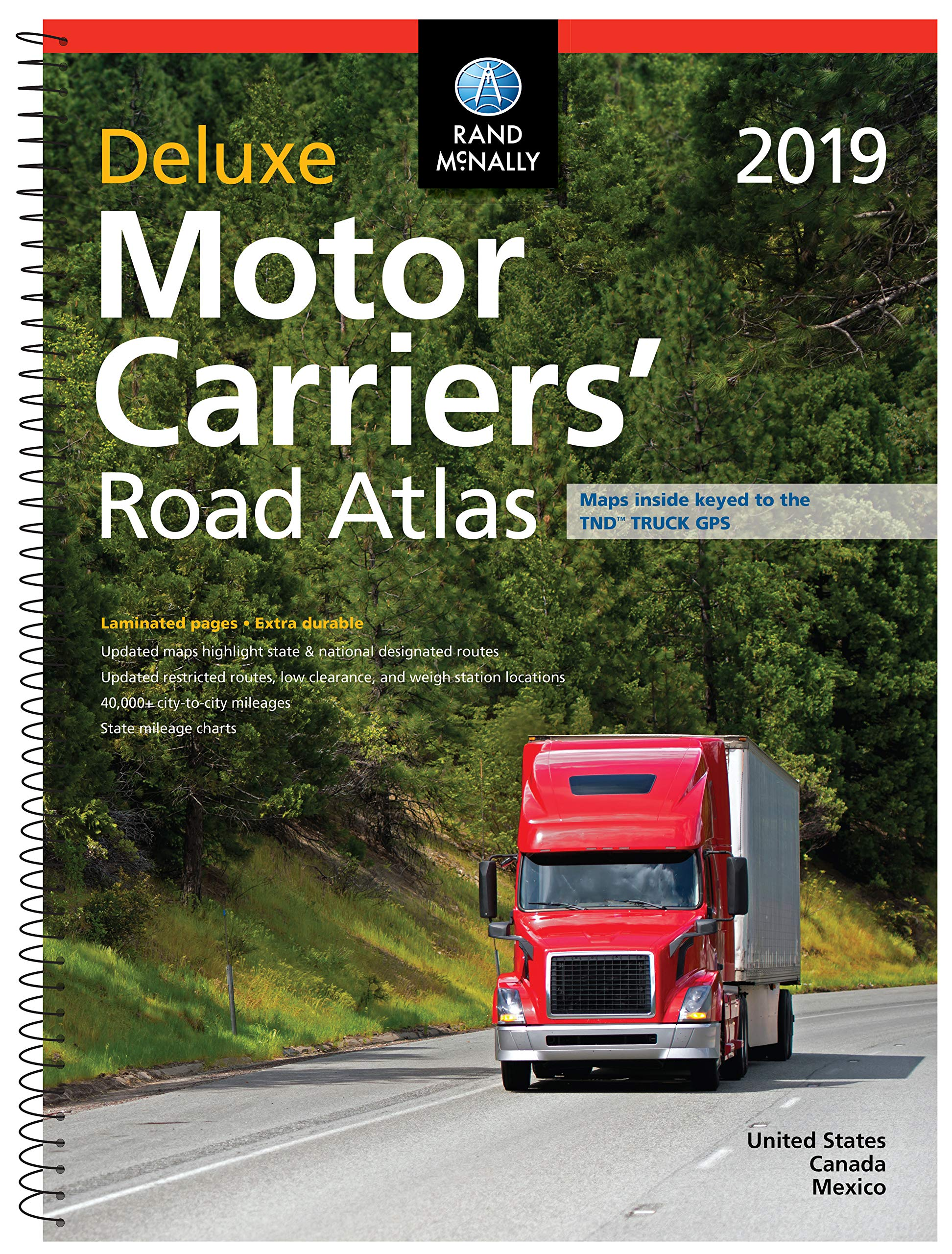 McNally Deluxe Motor Carriers Atlas product image
