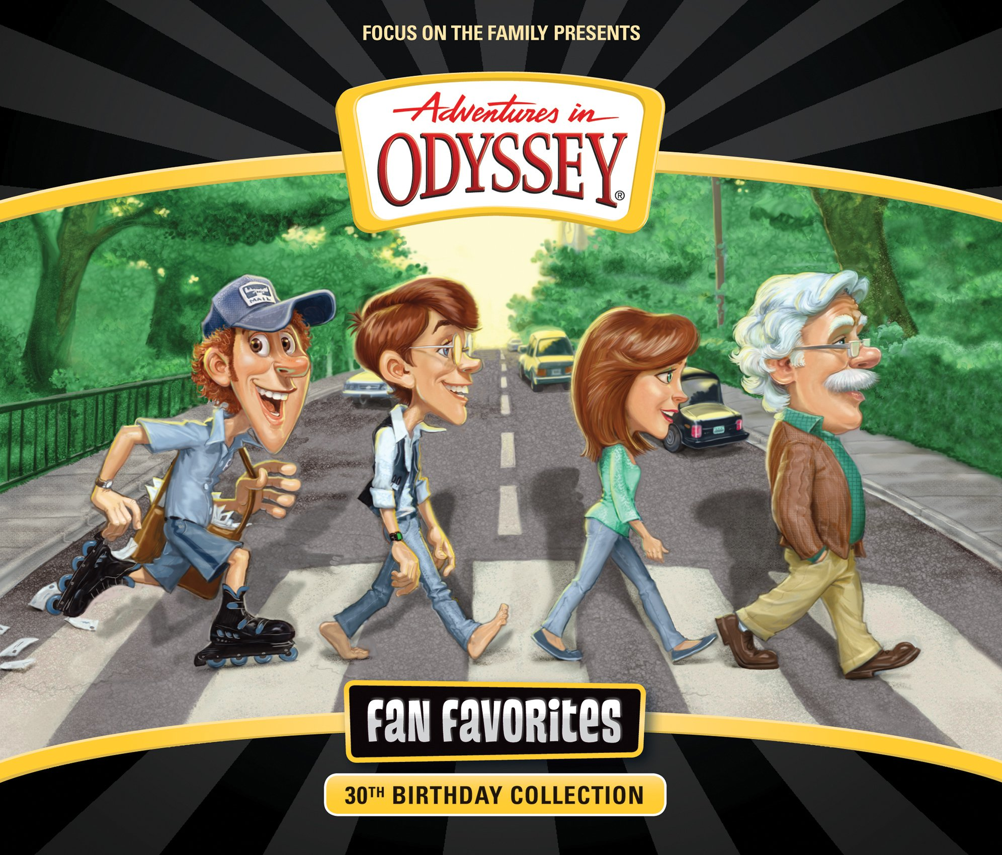 Fan Favorites (Adventures in Odyssey) by Tyndale House Publishers (Image #1)