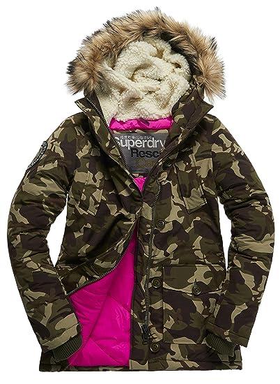 buy online ddf60 ba929 Superdry Herren Jacke Everest Parka