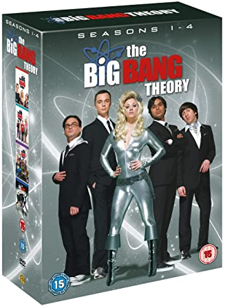 da54232f3e Big Bang Theory - Season 1-4 Complete  DVD   2011   Amazon.co.uk ...