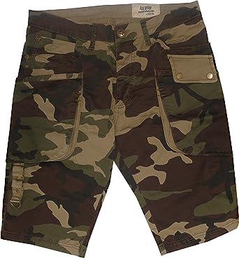 Camuflaje Cargo Short pantalones cortos para Nuevo Deep ...