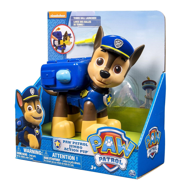 amazon com paw patrol jumbo sized action pup chase toys games