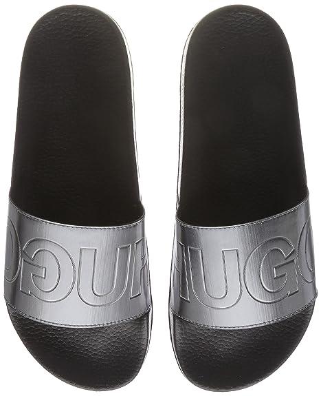 HUGO Timeout_Slip_Met, Mocasines para Hombre: Amazon.es: Zapatos y complementos