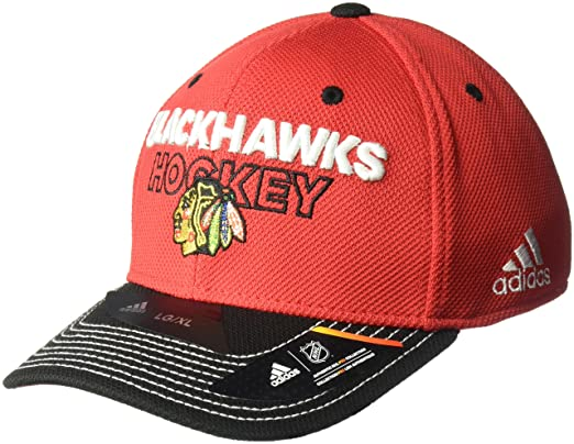 adidas Gorras Chicago Blackhawks Locker Room Structured Red ...