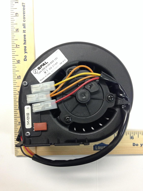 008 A100 93d 12v Spal Automotive Blower Motor 008a10093d Fan Wiring Diagram Single