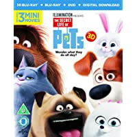 Deals on The Secret Life Of Pets Blu-ray + DVD + Digital Copy