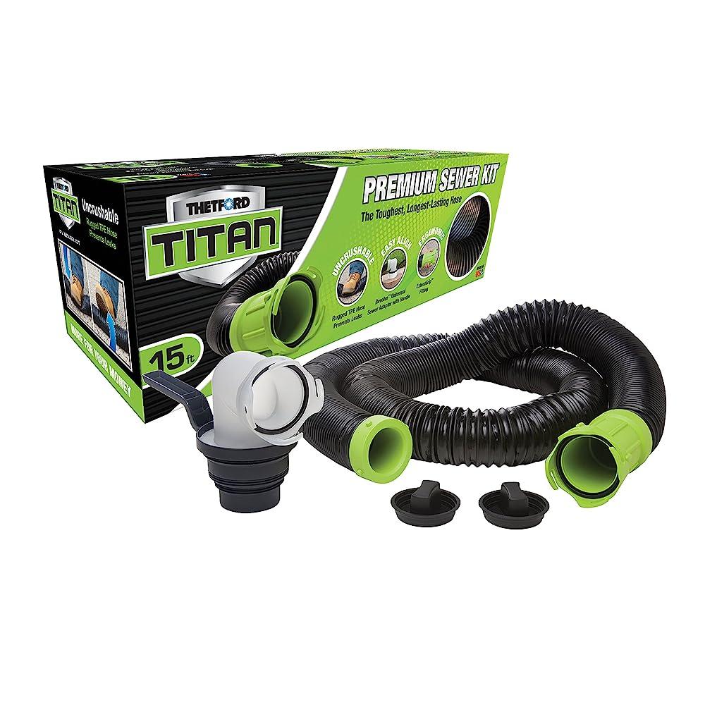Thetford Titan Sewer 15 Foot Hose Kit 17853