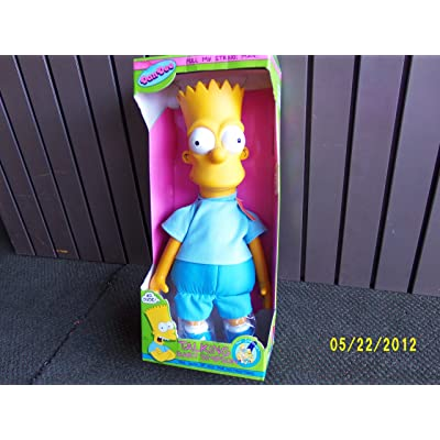 "Talking Bart Simpson 18"" INCHES: Toys & Games"