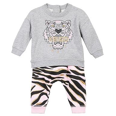 Amazon.com  Kenzo Tiger 30 Little Girls Long Ensemble  Clothing adc612f89aa4
