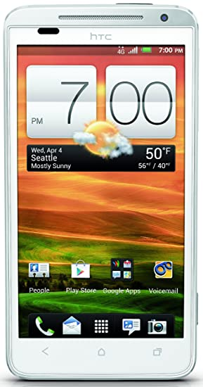 save off 81bb9 62886 HTC EVO LTE, White 16GB (Sprint)