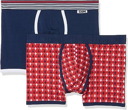 Dim Cup Boxer X2 Shorts, Multicolor (Imprimé Baby Foot/Bleu Marin 5W8), Large (Talla del Fabricante: 4) (Pack de 2) para Hombre: Amazon.es: Ropa y accesorios
