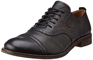 Levis Men's King Evans Black Boots - 6.5 UK/India (40 EU) (
