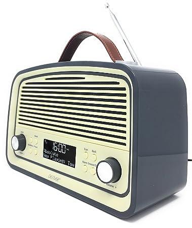 Denver 12216550 Digital Radio Dab 38 Grau Amazon De Kuche Haushalt