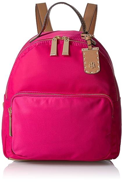 Tommy Hilfiger - Bolso Mochila para Mujer Rosa Rosa Claro: Amazon.es: Zapatos y complementos