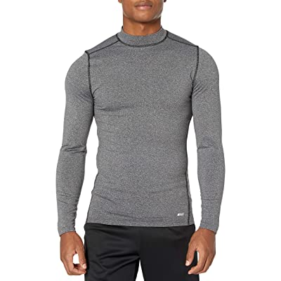 Essentials Men's Control Tech Thermal Long-Sleeve Mock Shirt: Clothing