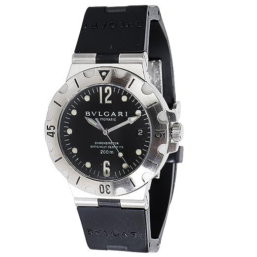 Bvlgari diagono swiss-automatic reloj para hombre SD 38 S (Certificado) de segunda mano: Bvlgari: Amazon.es: Relojes