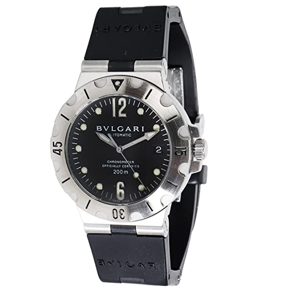 Bvlgari diagono swiss-automatic reloj para hombre SD 38 S (Certificado) de segunda