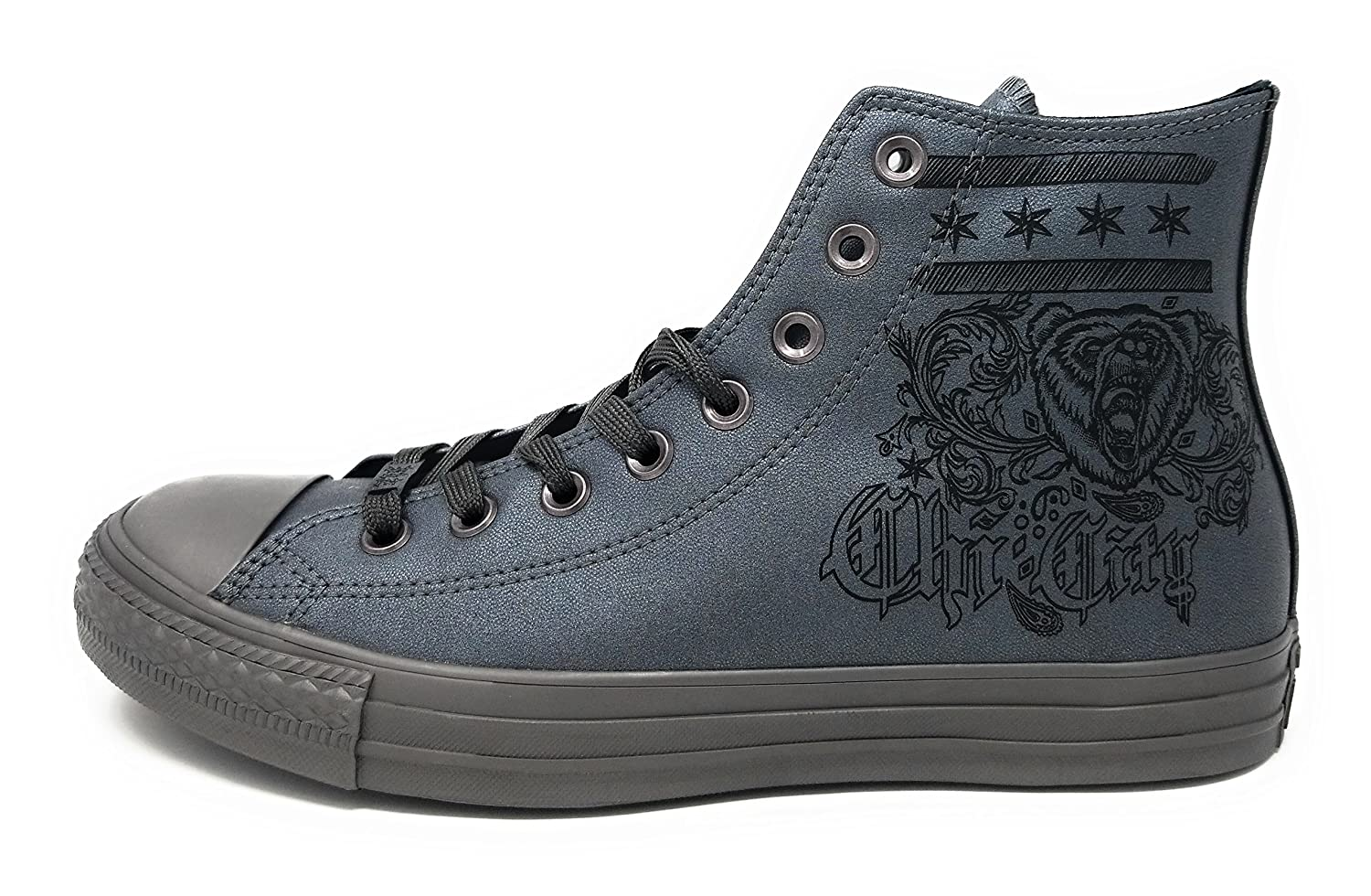 Converse Unisex Chuck Taylor in All-Star High-Top Casual Sneakers in Taylor Classic Style and Color and Durable Canvas Uppers B07D5HWNKR 8 D(M) US|Gunmetal/Gunmetal/Black 62a7ee