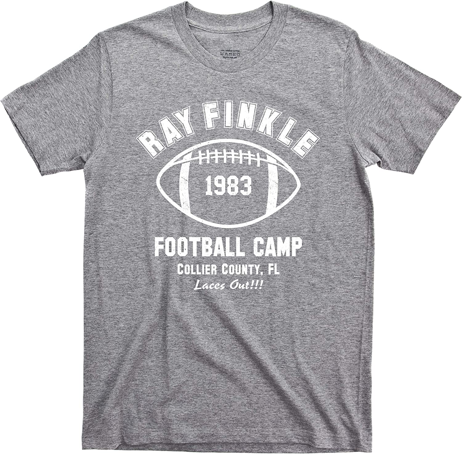Ace Ventura T Shirt Pet Detective Ray Finkle Football Camp Laces Out Jim Carrey Movie Tee