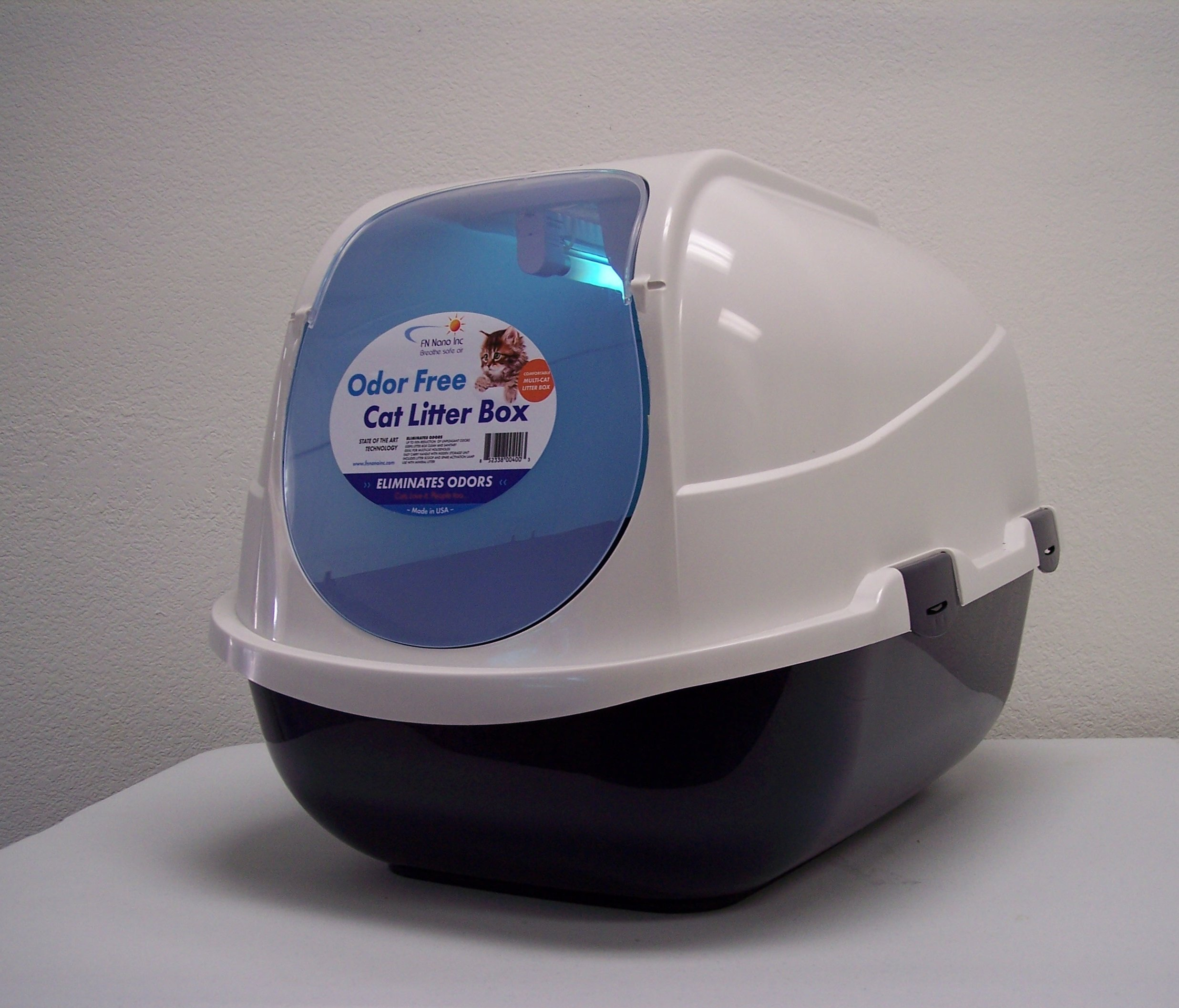 Odor Free Cat Litter Box, State of the Art Technology