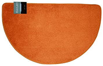 Kashi Home Hailey Collection Slice Style Bath Rug, 18u0026quot; X 30u0026quot;  Decorative Bathroom