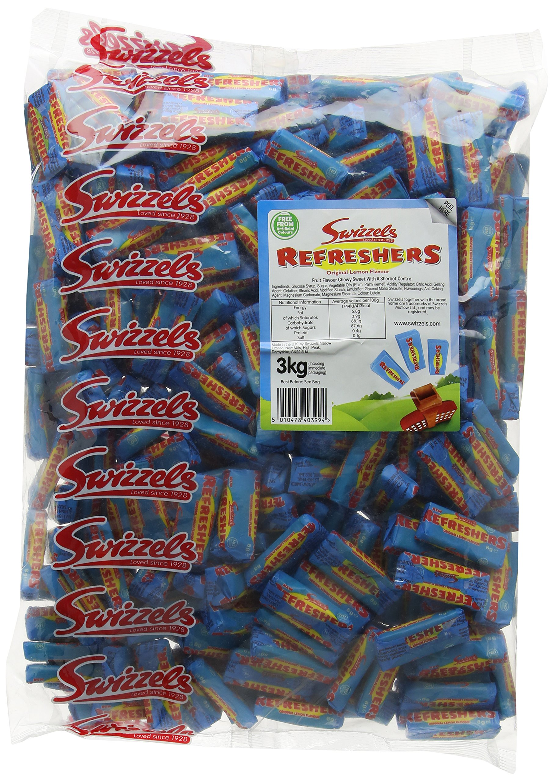 Swizzels Matlow New Refreshers Chews Sweets 3 kg
