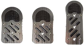 SP394 - Sport Juego cubierta del pedal, tapa cojín del pedal recubrimiento de goma antideslizantes