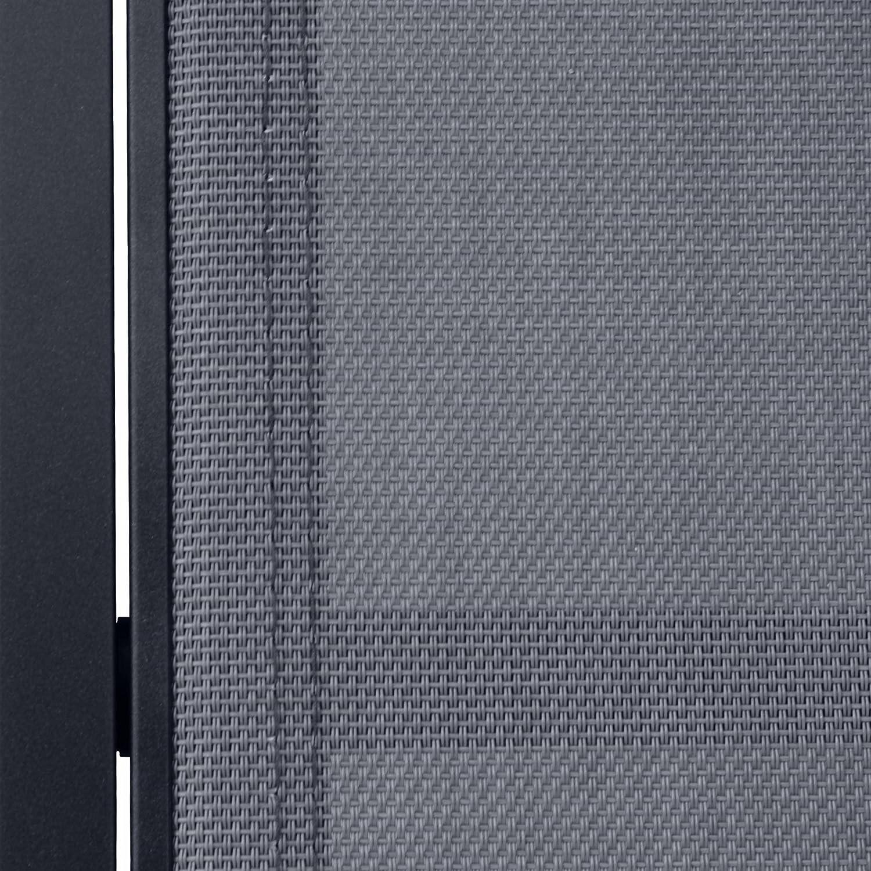 Alices Garden - Tumbonas de aluminio y textileno (x2), con ruedas ...