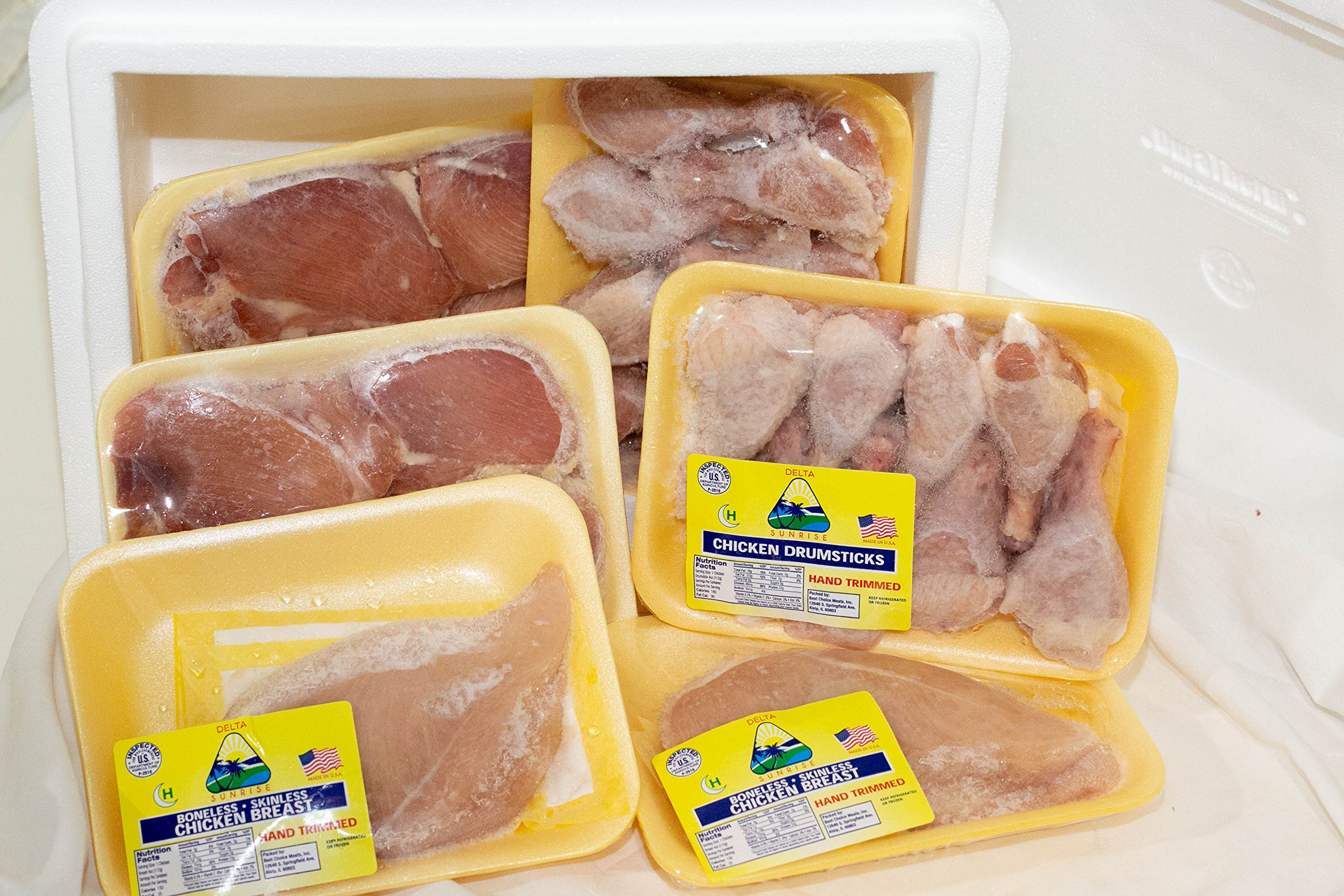 Midamar Halal Chicken Package - Breast, Drumsticks and Thigh