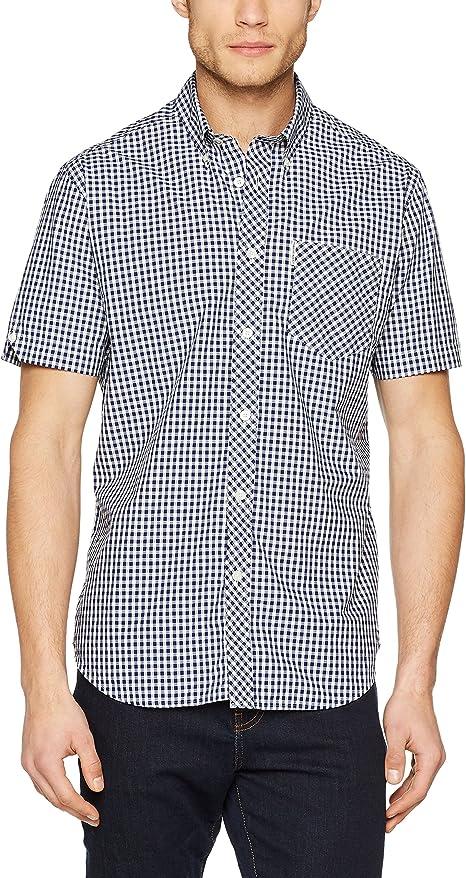 Ben Sherman SS Core Gingham Shirt Camicia Casual Uomo
